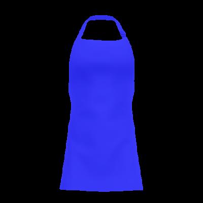 Avental Azul Royal