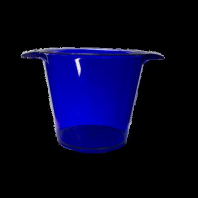 Balde de Gelo Azul Cristal