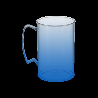 Caneca Jateada Azul Royal de 430 ml