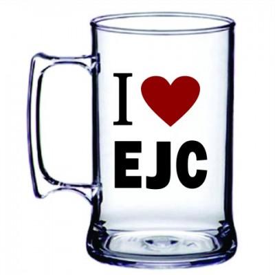 Caneca Acrílica I LOVE EJC