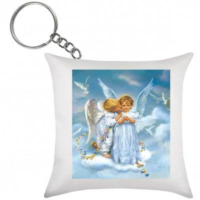 Chaveiro de Almofada Anjos Pequenos