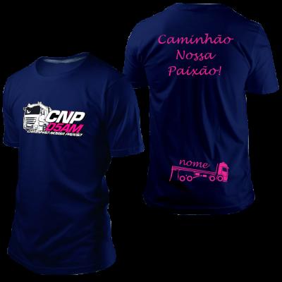 Camisa CNP Azul Marinho com Nome