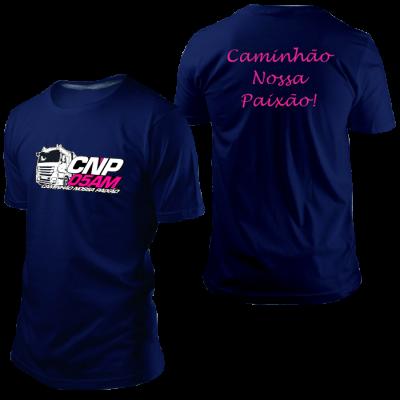 Camisa CNP Azul Marinho sem Nome