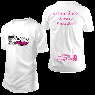 Camisa CNP Branca com Nome