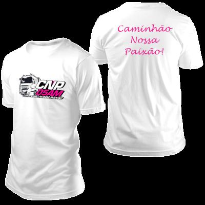 Camisa CNP Branca sem Nome
