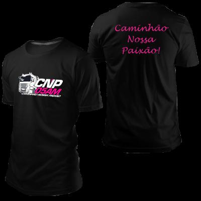 Camisa CNP Preta sem Nome