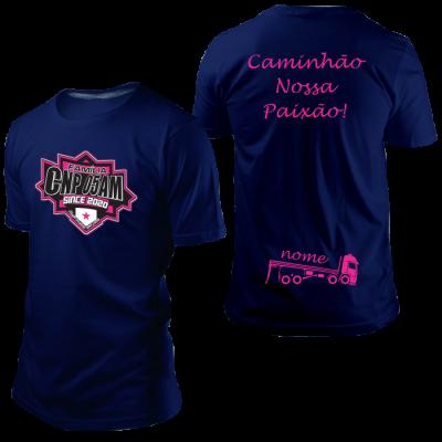 Camisa CNP Since 2020 Azul Marinho com Nome