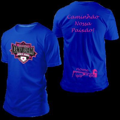 Camisa CNP Since 2020 Azul Royal com Nome