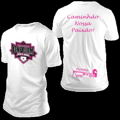Camisa CNP Since 2020 Branca com Nome