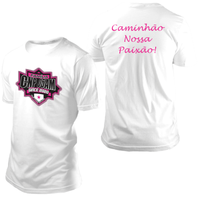 Camisa CNP Since 2020 Branca sem Nome