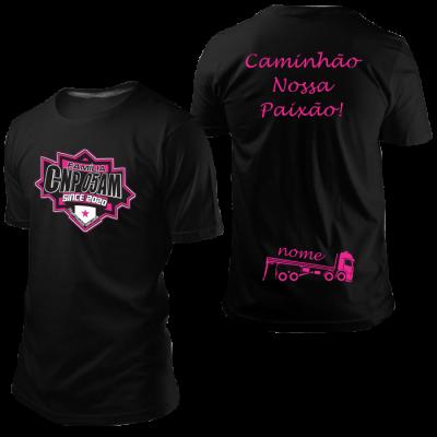 Camisa CNP Since 2020 Preta com Nome