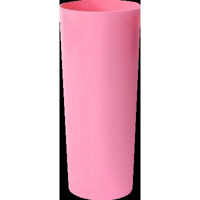 Copo Long Drink Rosa Claro