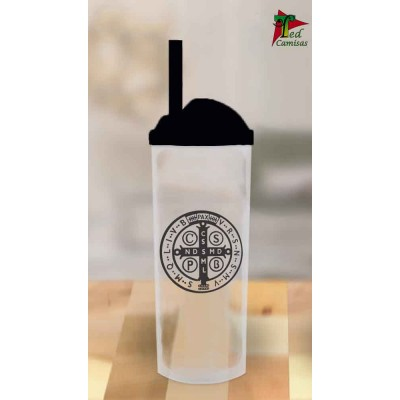 Copo Long Drink São Bento - Transparente com Preto