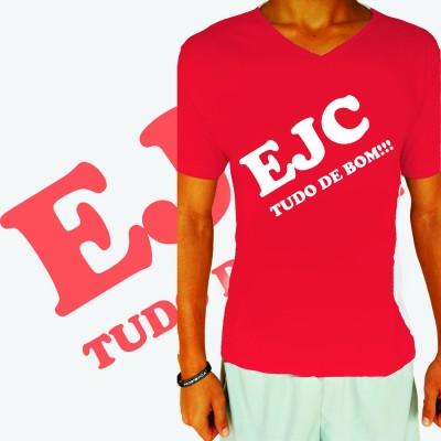 Camisa EJC Tudo de Bom Vermelha