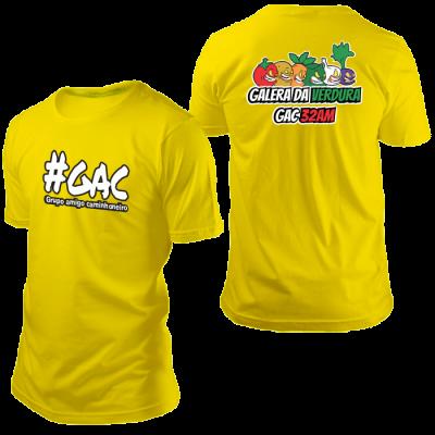 Camisa GAC Verdureiros Amarela