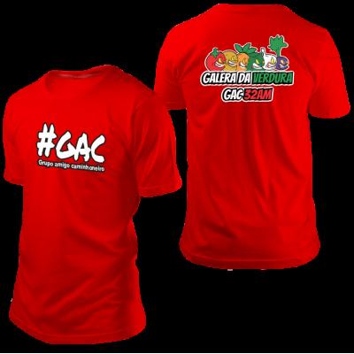 Camisa GAC Verdureiros Vermelha
