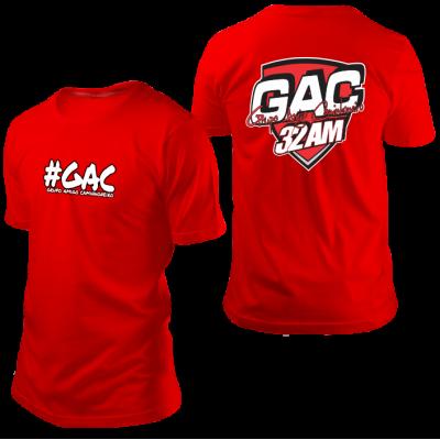 Camisa GAC Vermelha
