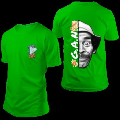 Camisa GAN Seu Madruga Verde
