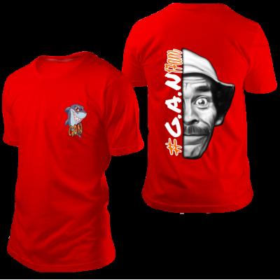 Camisa GAN Seu Madruga Vermelha