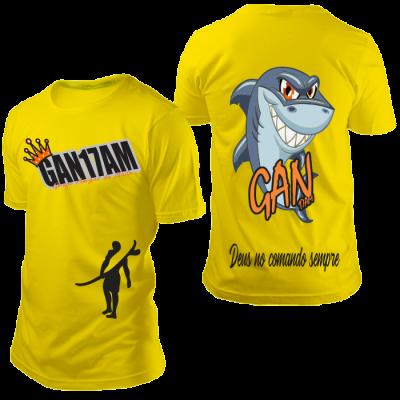 Camisa GAN Tubarão Amarela