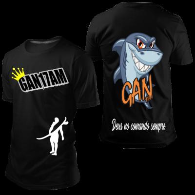 Camisa GAN Tubarão Preta