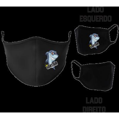 Máscara GAN Tubarão Preta