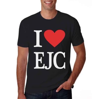 Camisa I Love EJC Preta