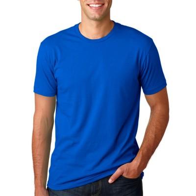Camisa Lisa Azul - Malha 100% Algodão