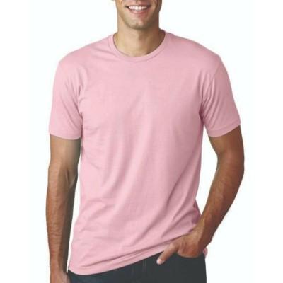 Camisa Lisa Rosa - Malha 100% Algodão