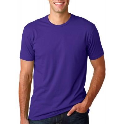 Camisa Lisa Roxa - Malha 100% Algodão