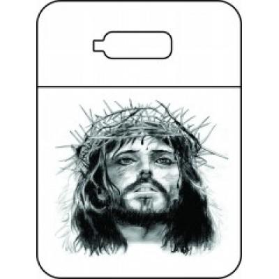 Lixeira para carro Face de Cristo