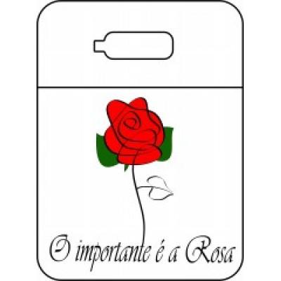 Lixeira para carro O importante é a Rosa