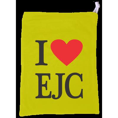 Sacolinha I Love EJC Amarela