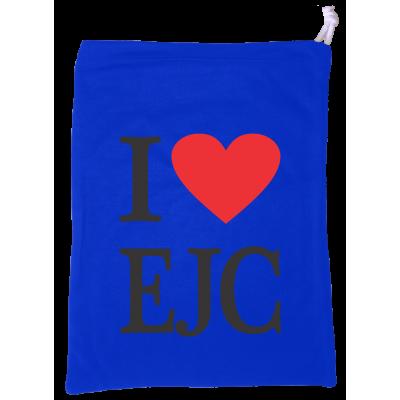 Sacolinha I Love EJC Azul