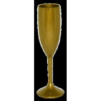 Taça de Champanhe Dourada