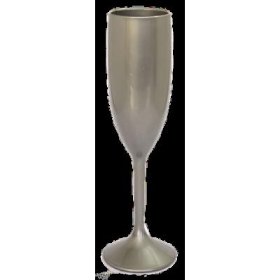 Taça de Champanhe Prata