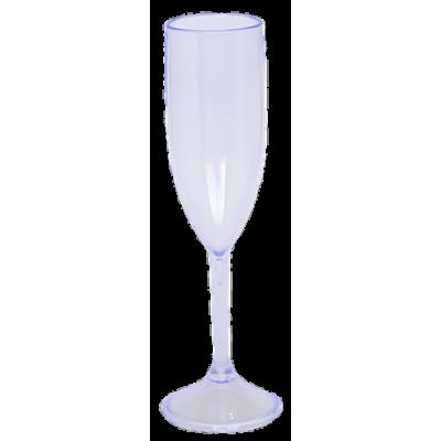 Taça de Champanhe Transparente