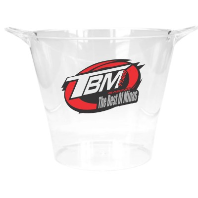 Balde de Gelo Transparente- TBM